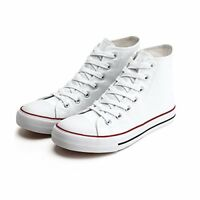 Womens Fashion Canvas Hi Top Sneaker in size 8