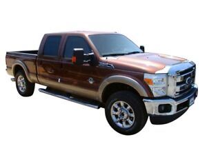 AVS for 11-16 Ford F-350 Aeroskin Low Profile Hood Shield - Chrome - avs622022