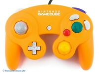 GameCube - Original Nintendo Controller / Pad #orange DOL-003