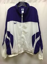 Vintage Reebok Windbreaker Jacket Size 2XL Purple/White