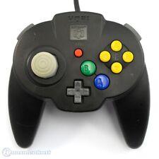 N64 - offiziell lizenzierter Controller / Pad #schwarz [Hori] JAP
