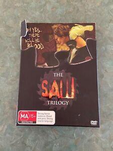 The Saw Trilogy DVD Box Set