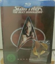 Star Trek Next Generation Season 1 Blu-Ray Dt. Steelbook Neu OVP Lit. Edit. Pin