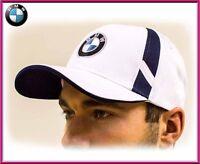 BMW baseball cap BMW M unisex hat, cotton. White. Adjustable size with ///M logo