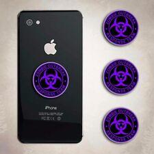 Zombie Response Team Purple iphone Decal Phone Arcade Biohazard Sticker Cell