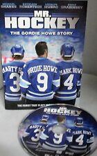 Mr. Hockey The Gordie Howe Story NEW! DVD, Detroit Red Wings, Aeros, Whalers NHL