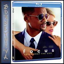 FOCUS -  Will Smith  *BRAND NEW BLU-RAY REGION FREE*