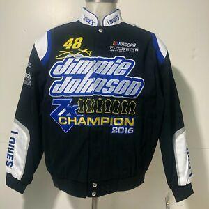 Jimmie Johnson #48 7-Time Championship Jacket