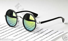 Round Metal Rim Fashion Vintage Sunglasses Celebrity Glasses Retro 50s Women Men