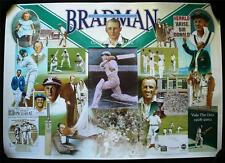 Sir Donald Bradman - Signed Limited Edition 'First, Last & Always' Print