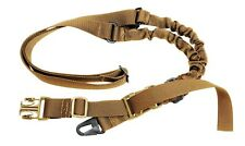 Rifle Sling Coyote Brown Single Point Adjustable Shoulder Strap Rothco 4068