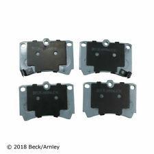 Beck/Arnley 085-1415 Front Premium Brake Pads