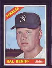 Hal Reniff 1966 Topps Baseball Card # 68  New York Yankees Pitcher EXCELLENT !
