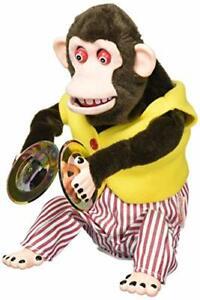 YAMANI Musical Jolly Chimp Monkey Naughtiness Cymbals 9510 Japan