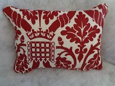 NEW LISTING PORTICULLIS CLOTH BY PALACE OF WESTMINSTER 1 OBLONG CUSHION COVER