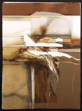 "Nanci Blair Closson ""Post Fabrication"" Hand Signed Original Watercolor Painting"