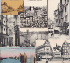 France - PAYS DE LA LOIR - old postcards - 50+ cards- sold singly