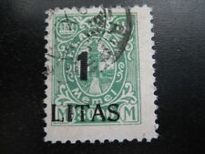 MEMEL GERMAN PLEBISCITES Mi. #205III scarce used expertized stamp! CV $215.00
