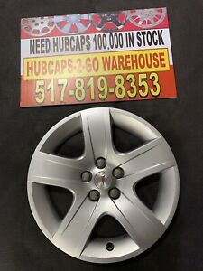 """2007 -2010 Pontiac G6 17"""" Bolt On Factory Hubcap Very Nice Looks Almost New"""