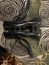 Vintage 1960sUs Army Addison Tropical Combat Boots Ro Search Military 12 Vietnam