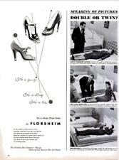 1948 Florsheim PRINT AD Juanita style Shoes