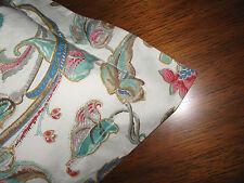 Ralph Lauren ANTIGUA FLORAL Paisley 2(Pair) STANDARD Pillow Shams New