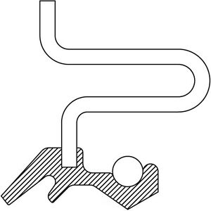Auto Trans Extension Housing Seal National 4583