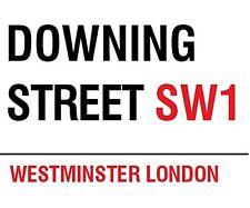 Downing Street, London small steel sign (og 2015)
