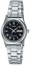 Casio Classic Women's LTP-V006D-1BUDF Black Dial Metal Analog Watch