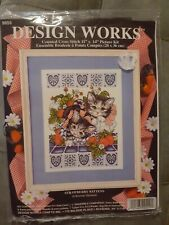 Design Works Strawberry Kittens  Counted Cross Stitch #9859