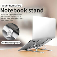 Laptop Stand Adjustable Notebook Table Portable Tray Lazy Foldable Computer Desk