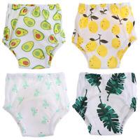 4pcs Pee Training Pants Portable Practicing Pants Waterproof Diaper for Toddler