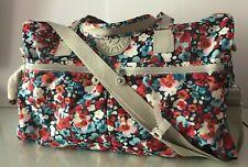 NWT Kipling Itska Extra-Large Duffle Travel Weekend Bag Multi $159