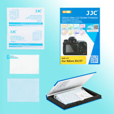 Nikon Z7 Z6 9H Hard Tempered Glass LCD Screen Guard Thin Protector JJC GSP-Z7