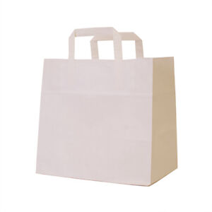 6 or 12 Cupcake Carrier Bags Hold Cavity Cupcake Boxes, Choose QTY