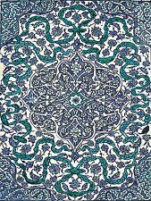 Iznik Turkey late 16th Accent Tile Mural Kitchen Bathroom Backsplash Ceramic 6x8
