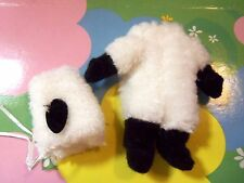 Kelly Tommy Doll Clothes *White Fuzzy Sheep/Lamb Costume w/Hat/Headpiece*