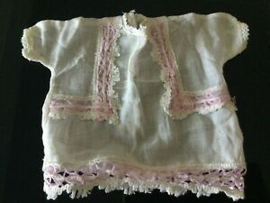 Antique German Baby doll Muslin Chemise for your antique doll No 84