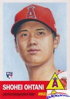 2018 Topps Living Set #7 SHOHEI OHTANI ROOKIE MINT LA Angels 1953 Style SOLD OUT