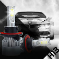 XENTEC LED HID Headlight kit H13 9008 White for 2008-2008 Ford E-350 Econoline