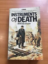 "(B) 1977 ""INSTRUMENTS OF DEATH"" W A HARBINSON WW2 WAR FICTON PAPERBACK BOOK"
