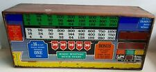 WIMI BELGIUM 12473 PINBALL BINGO TOP GLASS IN WOODEN BOX MAN CAVE