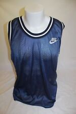 Vintage Nike Men's Blue Basketball Jersey Size Large Made in USA