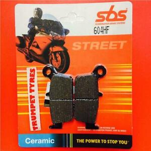 Gas GAS MC 125 03 > ON SBS Rear Ceramic Brake Pads EO QUALITY 604HF