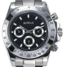 BOMAX by PARNIS Daytona 40MM Herrenuhr Automatikuhr Saphirglas Edelstahl 5BAR
