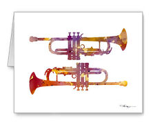 Trumpets Note Cards With Envelopes