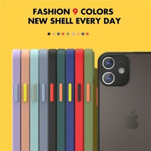Coque Bumper iPhone SE /6/6s/7/8 Plus x/xs/max/xr/11/12 pro mini Silicone