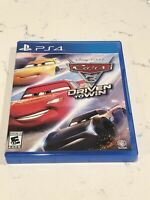 Cars 3: Driven To Win PlayStation PS4 PS5 Family Friendly Racing Disney Pixar