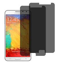 2 x Blickschutzfolie Samsung Galaxy Note 3 Neo Privacy Displayschutzfolie matt