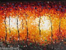 150cm Bush fire aboriginal art painting canvas COA landscape Authentic By Jane